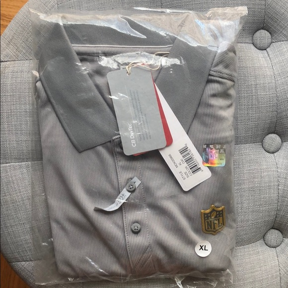 NFL Other - NFL Employee DriTec Polo NWT